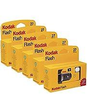 Kodak flitscamera met flits, 27 belichtingen, 5 stuks