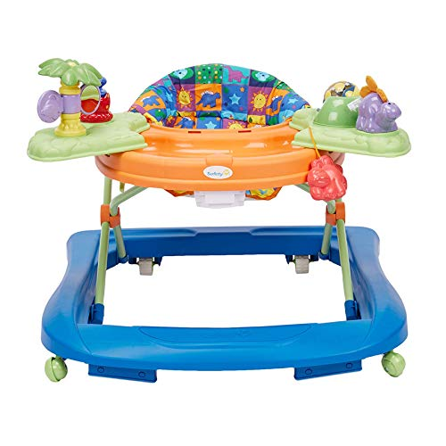 41tcxU7Q bL - Safety 1st Dino Sounds 'n Lights Discovery Baby Walker With Activity Tray