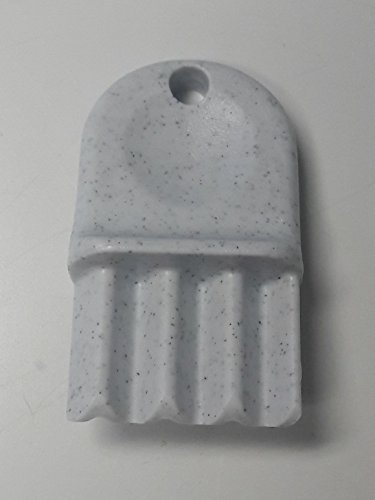 San Jamar 6-PACK N16 Key for Plastic Tissue Dispenser R2000, R4000, R4500 R6500, R3000, R3600, T1790, White (Plastic Tissue)