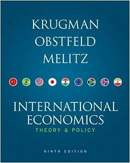 international economics krugman 9th edition