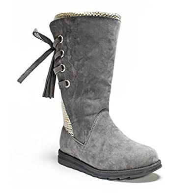 Amazon.com | Muk Luks Women's Luanna Winter Boot | Mid-Calf