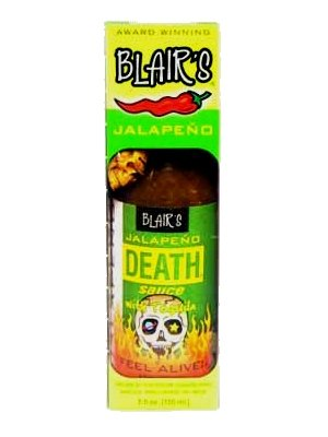 (3 BOTTLES! Blair's Jalapeno Death Sauce with Tequila, 5oz. )