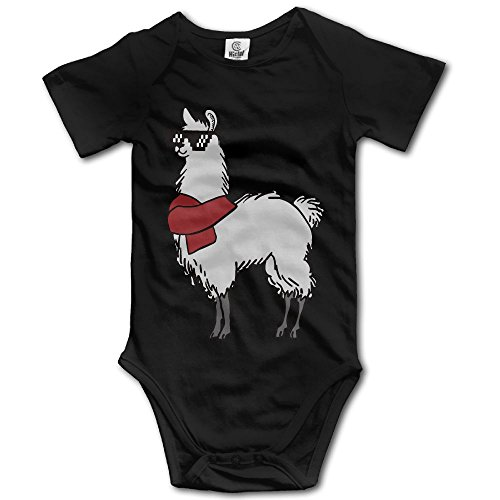 Infant Baby Girl Boy Fashion Llama Sunglasses Romper Short Sleeve Jumpsuit 18 Months - Sunglasses Florida Wholesale