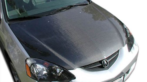 2002-2006 Acura RSX Carbon Creations OEM Hood - 1 (Carbon Creations Oem Grille)
