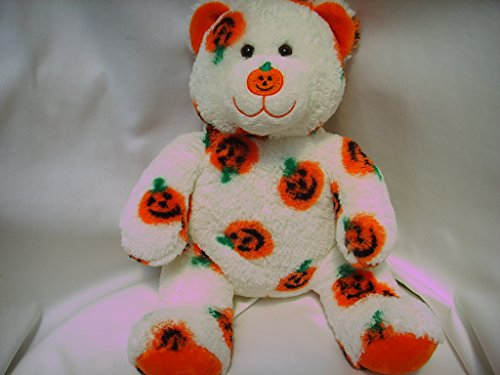 Build a Bear Workshop Halloween Orange Pumpkin Jack o' Lantern 15