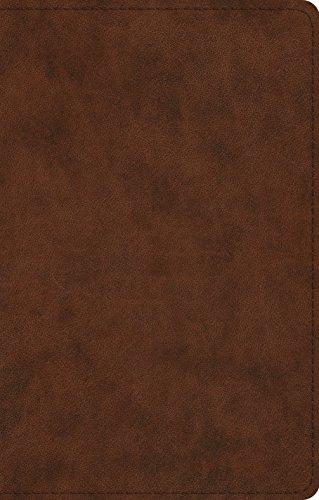 ESV UltraThin Bible (TruTone, Brown)