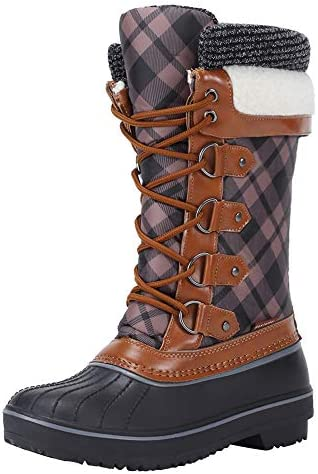 FANTURE Women's Winter Snow Boots Waterproof