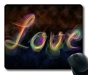 Colorful Smoke Love Easter Thanksgiving Personlized Masterpiece Limited Design Oblong Mouse Pad by Cases & Mousepads by ruishername
