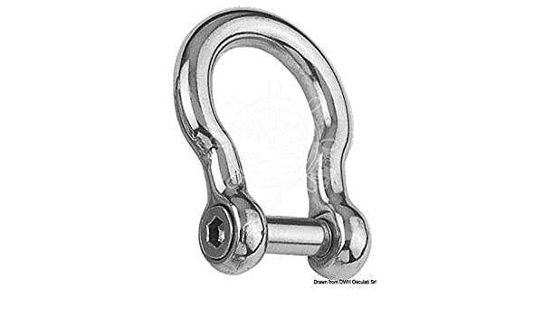 OSCULATI Stainless Steel Marine Boat Anchor Chain Shackle 16mm