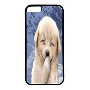 DIY Case Cover For iPhone 6 Black PC Back Phone Case Hard Single Shell Skin For iPhone 6 With Lovely Bear