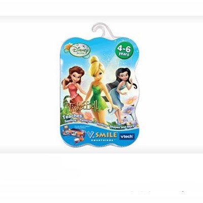 VTech V.Smile Smartridge: Disney Fairies Tinker Bell by VTech