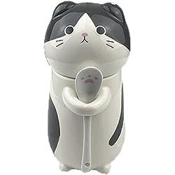 Taza de café linda de la cerámica de la taza del modelo animal 400ml para los amigos o usted mismo, Gato (B)