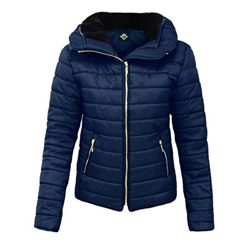 Smart Clothing - Abrigo - para mujer azul marino