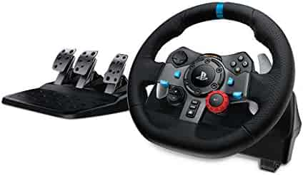 Logitech Dual-Motor Feedback Driving Force G29 Racing Wheel Responsive Pedals Playstation 4 Playstation 3