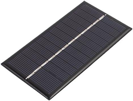 sourcing map 110 mm x 60 mm 1 Watt 6 Volt polykristallines Solarzellen Modul DE de