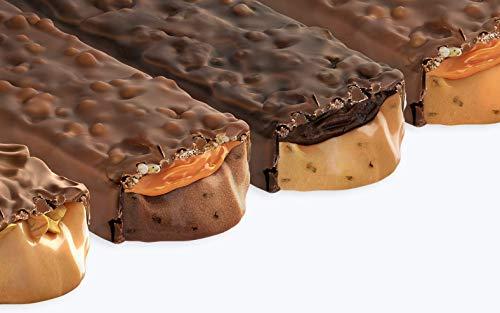 Prozis Melty 60 g - Barrita proteica con bajo contenido en azúcares Brownie de dulce de leche: Amazon.es: Salud y cuidado personal