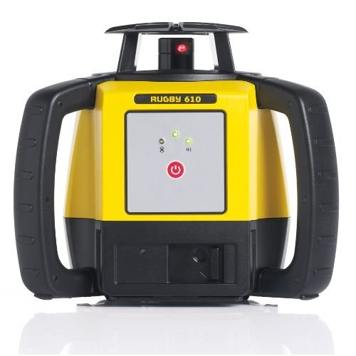 (Leica Geosystems Rugby 610, Rotary Laser, Self Levelling, Horizontal, Yellow/Black 6008613)