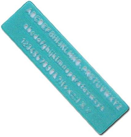Linex Lettering Stencil 4 Piece Set 50mm