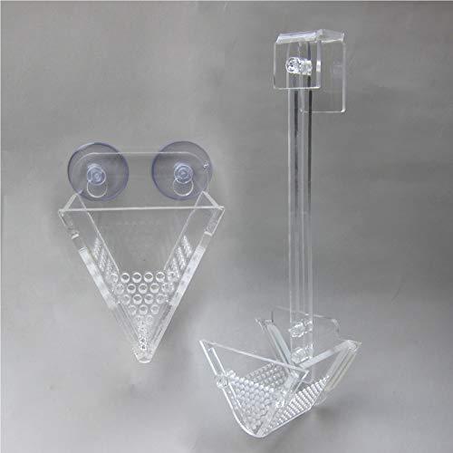 Alfie Pet by Petoga Couture - Evren Acrylic Feeding Box for Bloodworm 2-Piece Set by Alfie