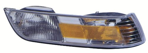 Depo 331-1534R-US Mercury Grand Marquis Passenger Side Replacement Side Marker Lamp Unit without Bulb With Corner Light 02-00-331-1534R//L-US