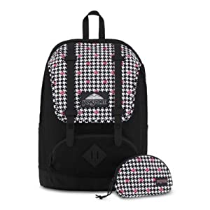 JanSport Disney Baughman (One Size, Disney Minnie White Houndstooth)