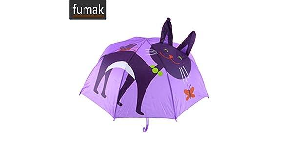 Amazon.com: Fumak Umbrellas - Paraguas de dibujos animados ...