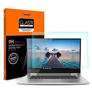 Spigen Tempered Glass Screen Protector Designed for Lenovo Yoga 730 (15.6 inch) [9H Hardness]