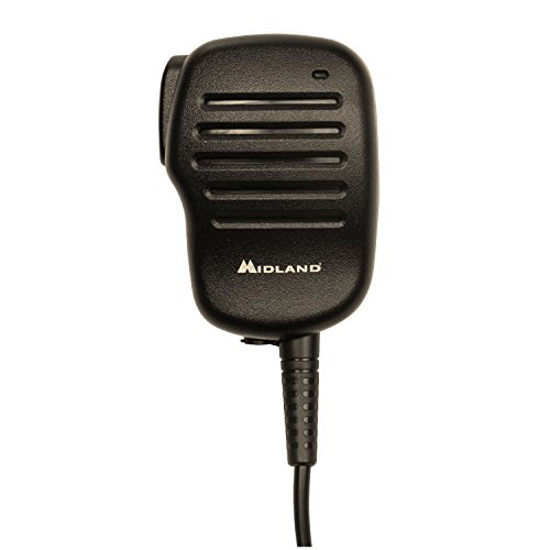 Midland Consumer Radio BA4 Shoulder Speaker Microphone for Business Portable Radio by Midland