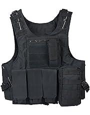ThreeH Outdoor Tactische Vest Veld Leger Pak Paintball Gaming Gilet Beschermende Apparatuur voor Jacht Politie