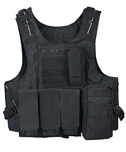 ThreeH Outdoor Tactical Vest Field Army Suit Paintball Gaming Gilet Protective Equipment for Hunting Police SA0501A