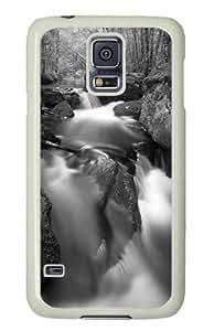 Vivid Image Painting Low Tide Custom Hard Back Case Protector for Samsung Galaxy S5 I9006 (529 White) -529015 WANGJING JINDA