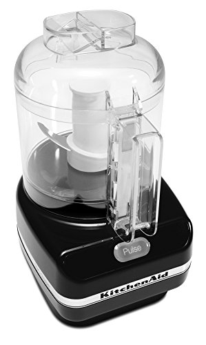 KitchenAid KFC3100OB Chef Series 3- Cup Food Chopper, Onyx Black