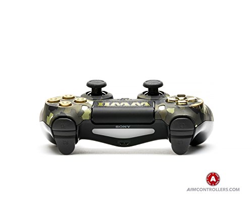 AimControllers PS4 Custom Wireless Controller, Playstation 4 Personalized Gamepad with 4 Paddles and Smart Triggers- War 2