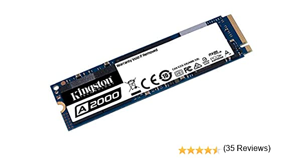 Kingston A2000 (SA2000M8/250G) SSD NVMe PCIe M.2 2280 250 GB ...