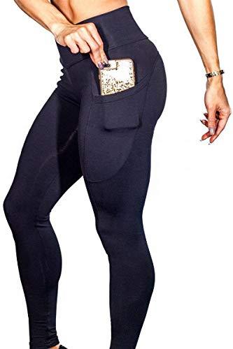 Automne Avant Treggins Noir De Taille Sport Yoga Party Poches Style Casual Femmes Hipster Unicolor Pantalon Haute Élastique 1tZ7qqWc