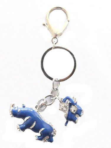 Amulet Elephant - Blue Rhino and Elephant Amulet