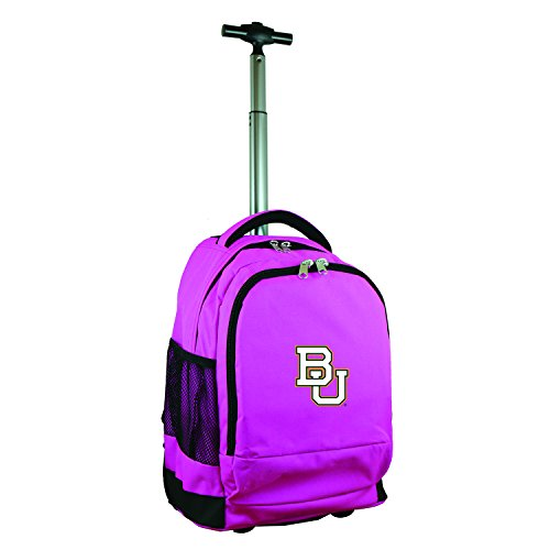 Denco NCAA Baylor Bears Expedition Wheeled Backpack, 19-inches, Pink ()