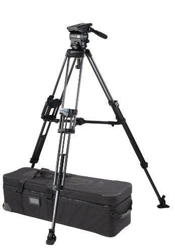 Miller 1690 Arrow 40 ENG CF Tripod (Black) by Miller Camera Support LLC USA