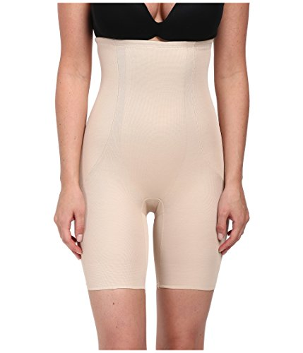 Miraclesuit Shapewear Back Magic High Waist Thigh Slimmer, Nude, S (Women's 4-6)