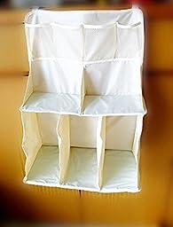 1PCS Wateproof Nursery Organizer Baby Bed Hanging Bag Storage Diaper Infant Crib Wipes Kids 3D