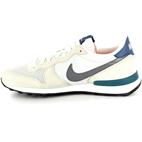 nike internationalist femme beige blanche