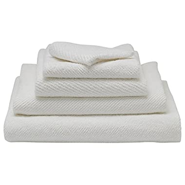 Organic Bath Towel Set - Coyuchi Air Weight White