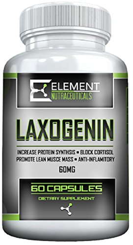 (LAXOGENIN (60 mg) by Element Nutraceuticals)