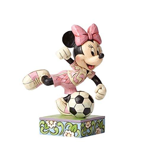 Jim Shore Disney Traditions Goal Minnie Mouse Soccer Football Figurine 4050397