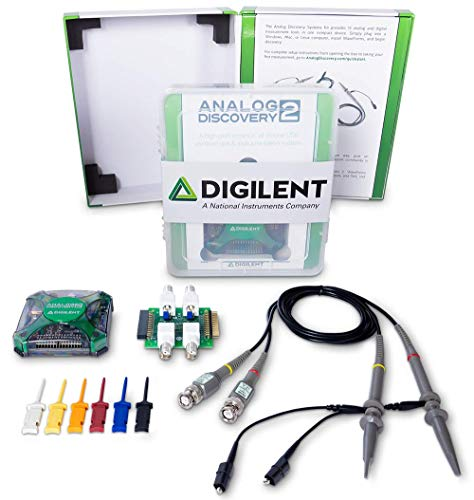 Analog Discovery Systems Kit: USB Oscilloscope & Logic - Analog Oscilloscope Digital