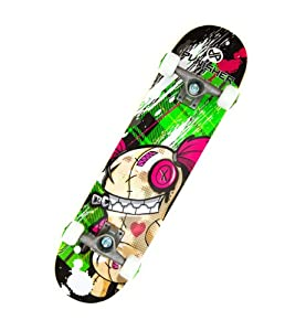 Punisher Skateboards Jinx Complete 31-Inch Skateboard All Maple by PUNISHER