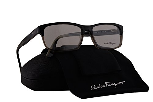 Salvatore Ferragamo SF2669 Eyeglasses 55-15-140 Blue Gray Horn 466 SF - Ferragamo Reading Glasses