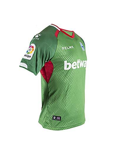 KELME Camiseta Alaves 2ª Equipacion 18/19 fútbol, Unisex niños: Amazon.es: Deportes y aire libre