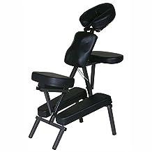 "3"" Padding Portable Massage Chair Beauty Tattoo Facial Spa Health + Free Bag(Black)"