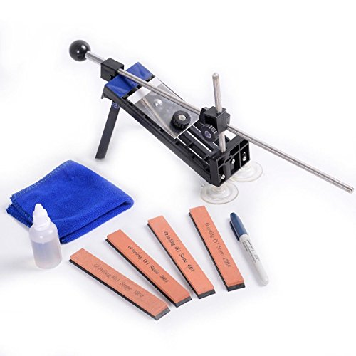 MasterPanel - Professional Knife Sharpener Kitchen Fix Fixed Angle Sharpening System +Stone SAVE TIMING #TP3348